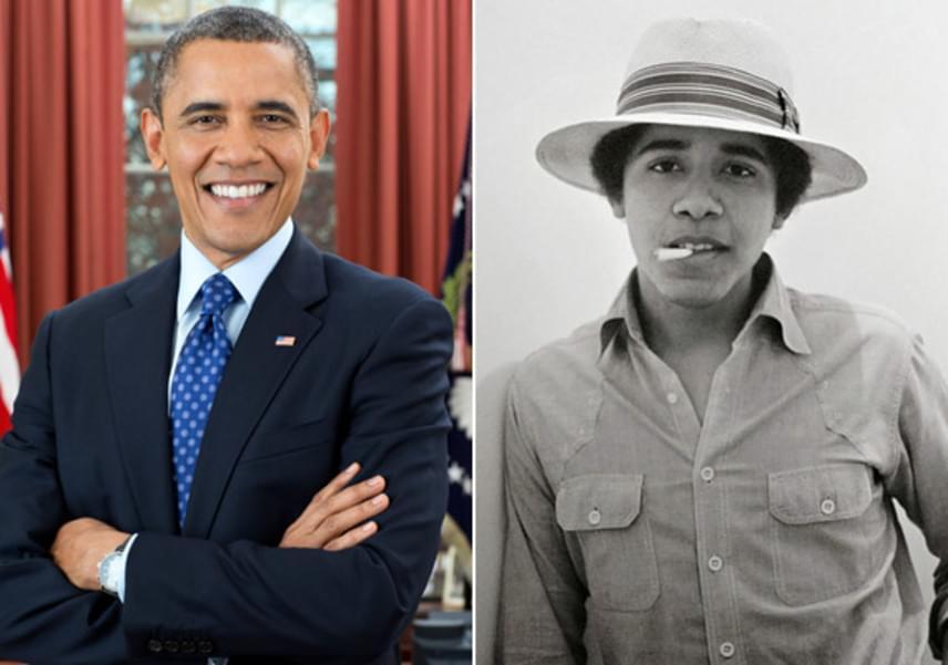 Mintha csak Bruno Marst látnánk! Sokak kedvence, Barack Obama pont olyan vagány és laza srác volt, mint napjainkban.
