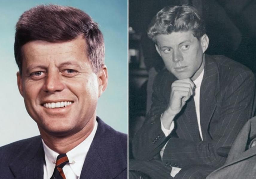 Csoda, hogy John Fitzgerald Kennedy sármjának még Marilyn Monroe sem tudott ellenállni? Ilyen jóképű volt fiatalon az USA 35. elnöke.