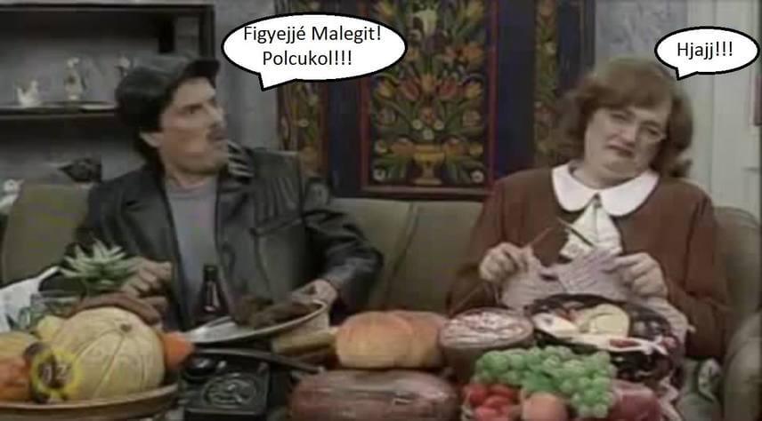 A L'art pour L'art társaság vicces jelenetei közül ki ne emlékezne arra, amikor Besenyő Pista bácsi azt mondja Margitnak: savanyúcukor!