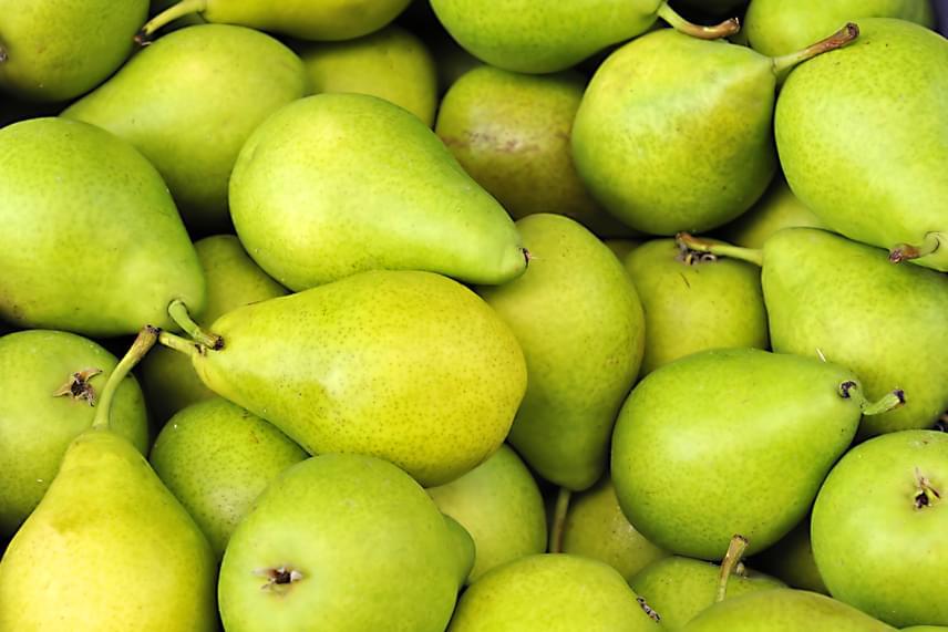 Bár az Environmental Working Group listáján már a középmezőnyben szerepel, hámozható gyümölcsként érdemes megemlíteni a körtét is, melynek esetében szintén tartsd be az óvintézkedéseket. Bár a Nébih szerint a forgalomba hozható gyümölcsökön található vegyszermaradványok mennyisége a határérték alatt van, és nem jelent kockázatot, kiemelik, hogy folyamatos szükség van az ellenőrzésekre, így vásárlóként sem árt az elővigyázatosság. Felhívják továbbá a figyelmet arra is, hogy zöldséget, gyümölcsöt mindig csak megbízható helyről - üzletben, piacon - szerezz be, és ne vásárolj ellenőrizetlen helyen, alkalmi árustól. Ha kíváncsi vagy, még mit tart fontosnak ezzel kapcsolatban a Nébih, kattints ide, ha pedig az is érdekel, mit mond a vegyszermaradványokról az Európai Élelmiszer-biztonsági Hatóság, itt bővebben is olvashatsz a témáról.