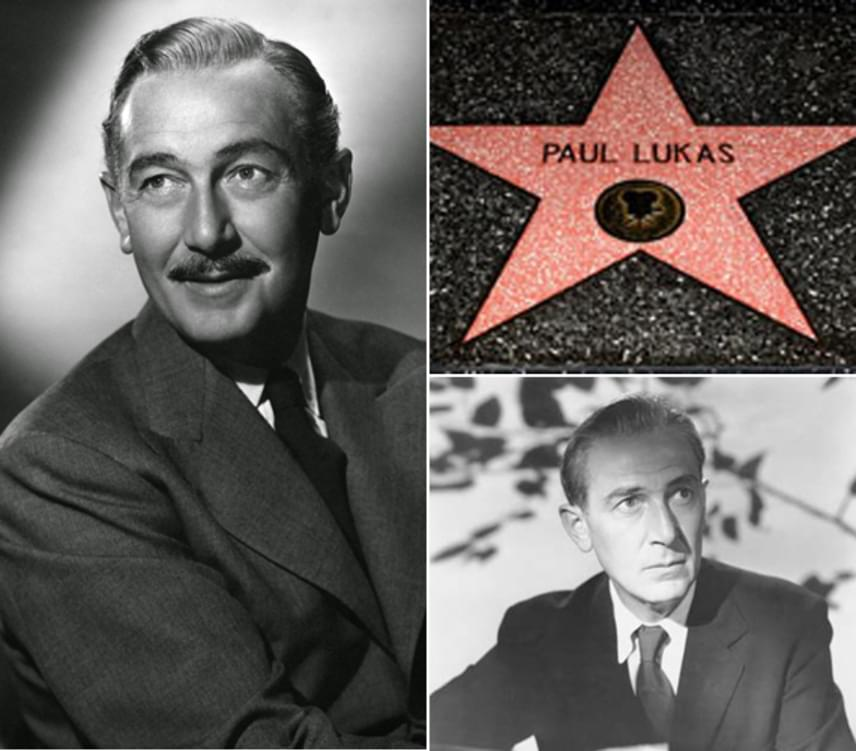 Lukács Pál 1891-benszületettBudapesten. 1927-ben ment Hollywoodba. 1943-ban Oscar-díjjal jutalmazták az Őrség a Rajnán című filmért. A mai napig ő az egyetlen magyar színész, aki aranyszobrot kapott.