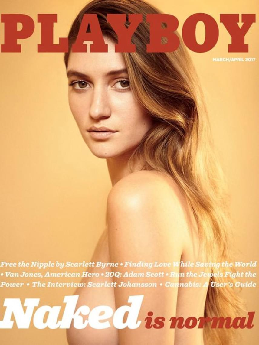 Sokak nagy örömére a következő számtól visszatér a meztelenkedés a Playboy magazinba. A főszerkesztő hivatalosan bejelentette a hírt, így a márciusi számban már ismét pucér lányokat csodálhatnak meg a lap olvasói - köztük Scarlettet is.