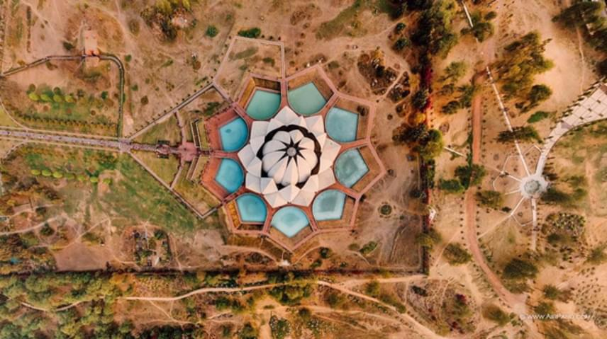 Lótusz-templom, Új-Delhi, India