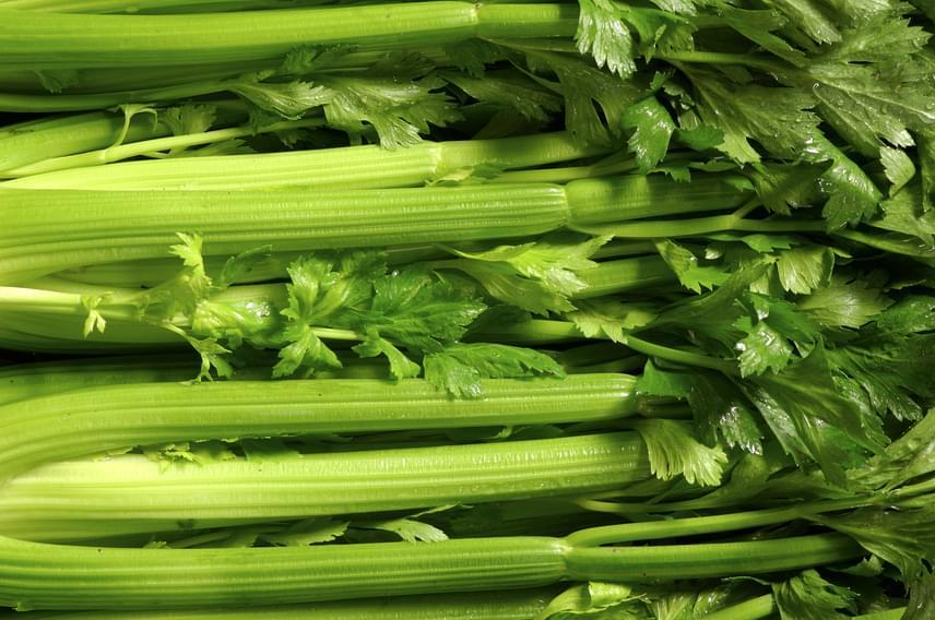 A zöldségek közül kiemelkedő még az angol- vagy szárzeller is, amelynekhúsos levélnyele ráadásul tele van vízzel, B1-, B2-és C-vitaminnal, ezért ideális nassolnivaló a fogyókúrához, ahogy a különféle gyökérzöldségek is.