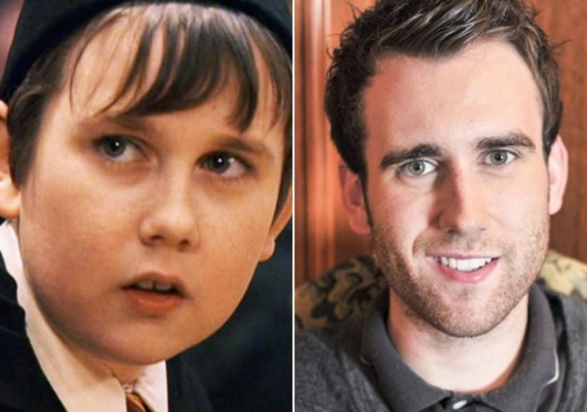 """Matthew Lewis még saját kifejezéssel is gazdagította a szlengszótárat: a pubertás után a pufi kisfiú olyan dögös lett férfivá vált, hogy azóta ezt a jelenséget csak """"longbottomed""""-nek hívják."""