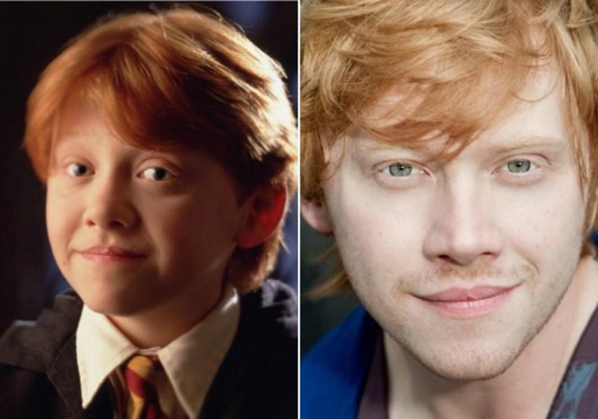 Ron Weasley talán nem volt a lányok esete, de Rupert Grint határozottan összetörhet néhány szívet. Ezzel a külsővel ki tudna neki ellenállni?
