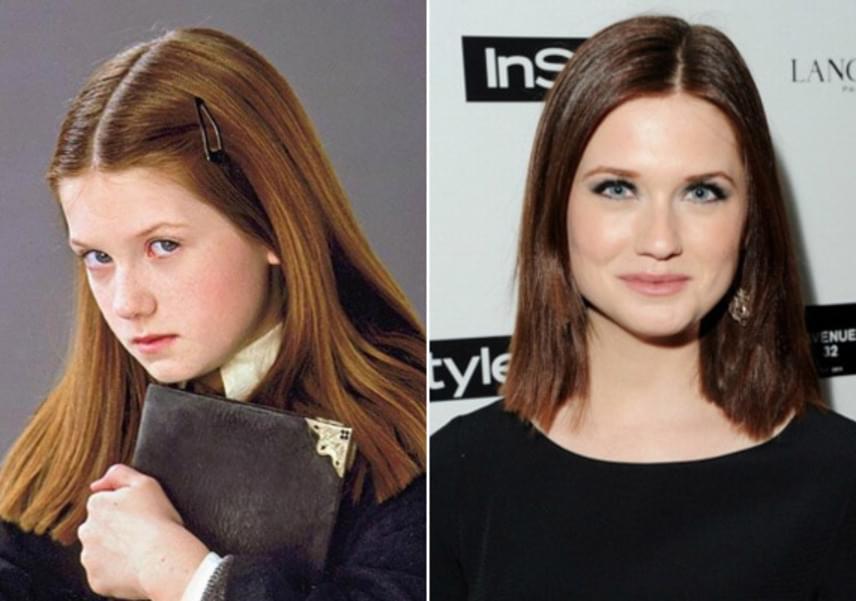 Cuki kislányból elegáns, felnőtt nő: a kis Ginny Weasley-t alakító Bonnie Wright is rengeteget változott az első film óta eltelt 16 évben.