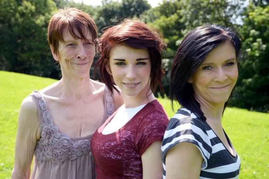 A betegség a családban az édesanyát, Tracey-t és egyik lányát, Zarát érinti. Lánytestvére, Chloe azonban egészséges.