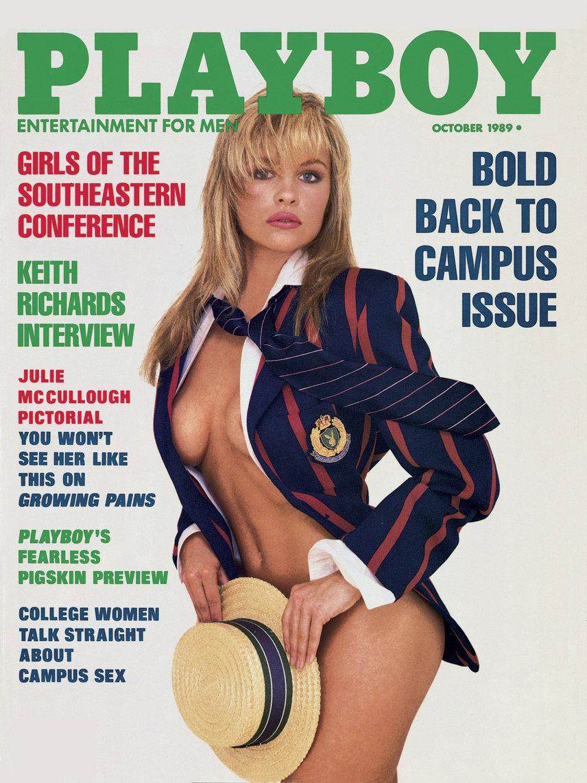 Pamela Andersont először 1989 októberében csodálhatták meg az emberek a Playboy címlapján. Ezzel egy sikersztori vette kezdetét, hiszen a Baywatch bombázója szerepelt a legtöbbször a nyuszis magazin címlapján a mai napig, szám szerint 13 alkalommal, ezt a rekordot pedig azóta se döntötte meg senki.