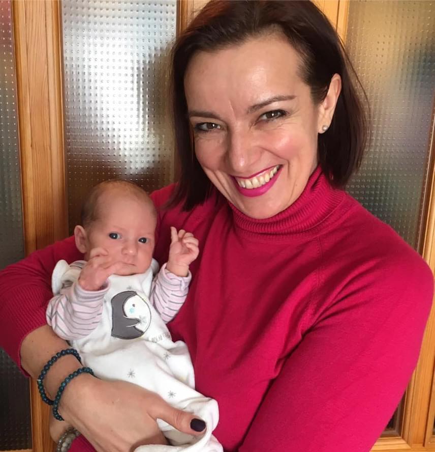 Fejős Évát és a kis Linda Zsófit meglátogatta már Závodszky Noémi színésznő is.