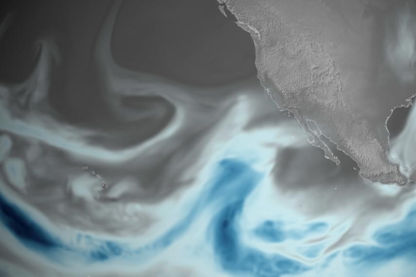 A meleg, nedves szállítószalagokat, vagyis a légköri folyamokat az 1861-62-ben dúló kaliforniai szupervihar idején fedezték fel, amikor 45 napon át folyamatosan zuhogott az eső, iszonyatos mennyiségű árvizet és államcsődöt okozva.