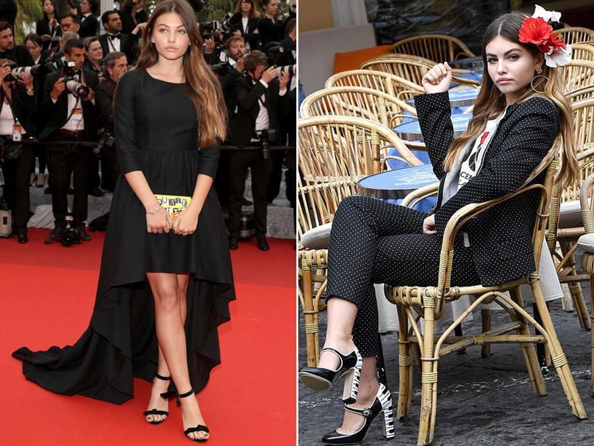 A 15 éves lány most is modellként dolgozik, többek közt olyan nagy divatházak színeiben lépett már kifutóra, mint a Dolce&Gabbana.