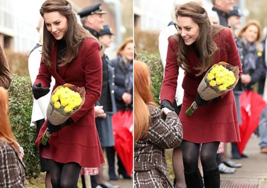 A hercegnét régóta nem láthattuk ilyen rövidke szoknyában - csupán a combja közepéig ért a darab, ami miatt még biztosan kap a fejére.