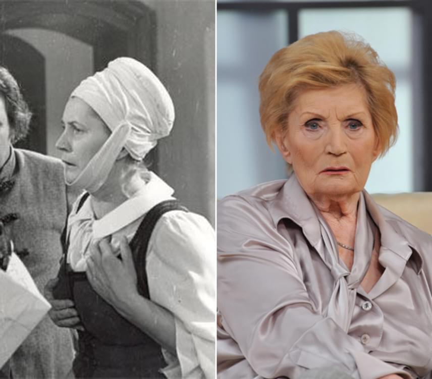 Marjákné karakterét Máthé Erzsire osztották A fekete város készítői. A 89 éves színésznőt nem vették fel a Színház- és Filmművészeti Főiskolára, ennek ellenére a 20. század második felének egyik legnagyobb magyar színésznője lett. Kivételes alakításokban gazdag életműve elismeréseként 1985-ben Kossuth-díjat kapott, 2000-ben pedig a nemzet színészének választották meg. Máthé Erzsi több mint hat évtizedes pályafutás után, 2012-ben vonult vissza.