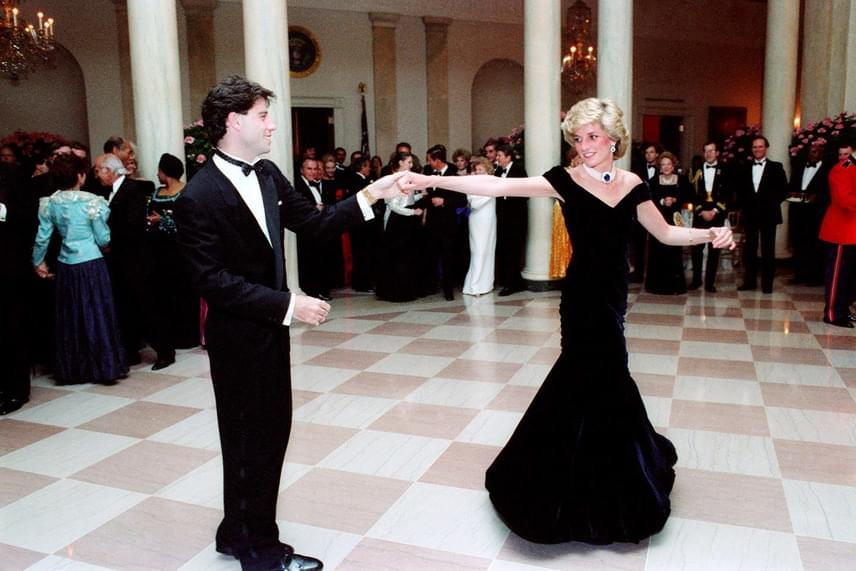 Még John Travolta is megtáncoltatta Diana hercegnőt a Fehér Házban 1985-ben. A színész szerint ez a tánc volt élete csúcspontja.
