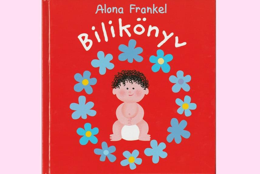 Alona Frankel: Bilikönyv                         A Bilikönyv kisfiú- és kislányverzióban is elérhető, bilire szoktató könyv, amely nemcsak a bilizés folyamatáról mesél, de gyereknyelven, hanem a gyerek korának megfelelő módon és mértékben, sematikusan ábrázolja is azt, beleértve az intim testrészek feladatát is. Samu és Sári megismerkedése a bilivel érthető és kedves történet formájában barátkoztatja meg a gyereket a szobatisztasággal, és teszi kíváncsivá a dolog iránt úgy, hogy egyfajta kalandként mutatja be a bilire szokást.                         Kiadja: Pagony                         A könyv ára: 1890 forint