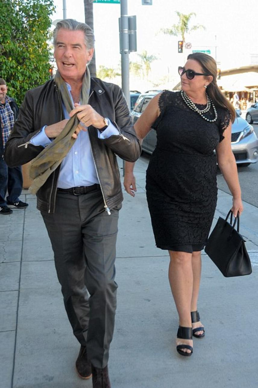 Beverly Hillsben kapták lencsevégre a párt - habár Keeley az évek során jó néhány kilót felszedett, még mindig nagyon csinos.