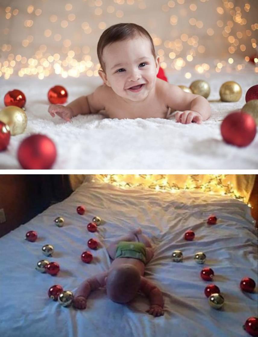 Ez a karácsonyi hangulatú kép majdnem összejött.