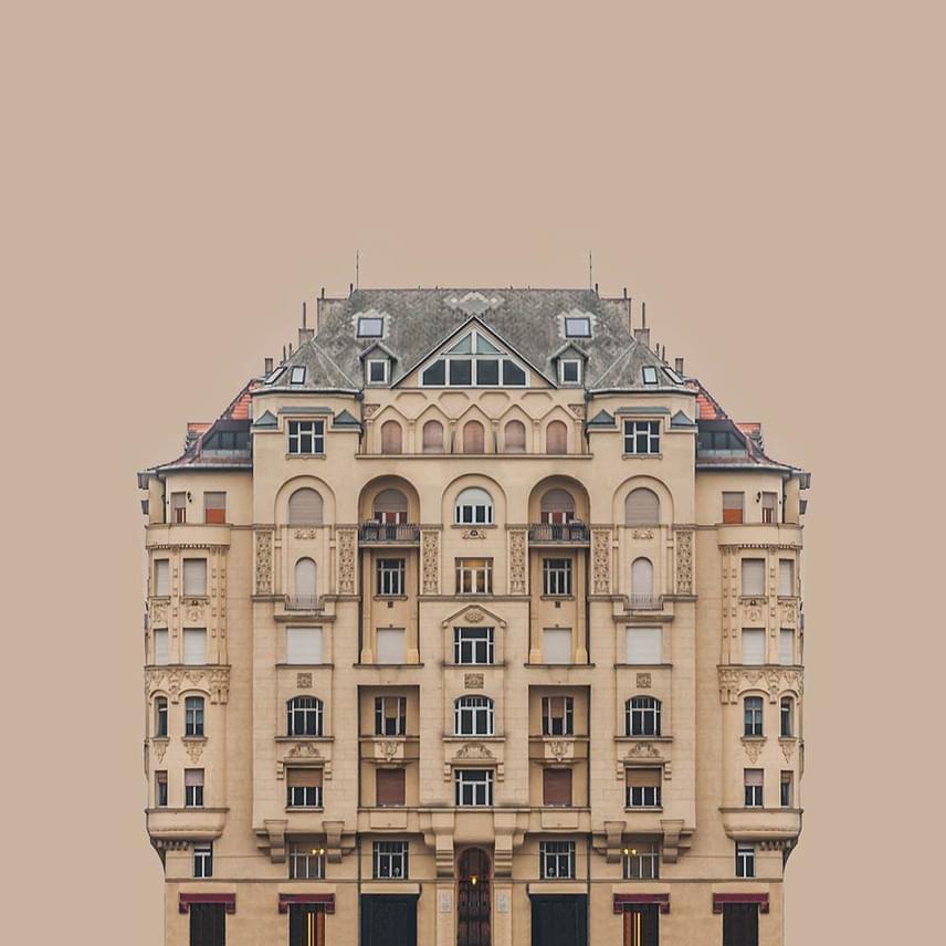 Városi szimmetria, második felvonás. A fotót a magyar Hlinka Zsolt készítette, Építészet kategóriában.