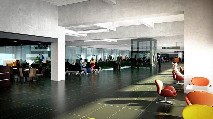 A Budapest Airport a B utasmóló terveinek elkészítésével a 6 évvel ezelőtt átadott SkyCourt csarnokot is tervező Tima Zoltán Prima Primissima díjas építészt és a KÖZTI tervező csapatát bízta meg.