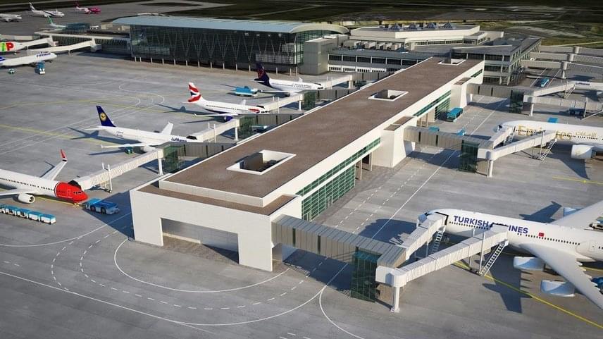 A BUD 2020 keretében már számos beruházás elindult, épül a repülőtéri szálloda, bővül az új utasfelvételi pultok száma, és hamarosan elkezdődik az 1-es futópálya betonjának cseréje is.