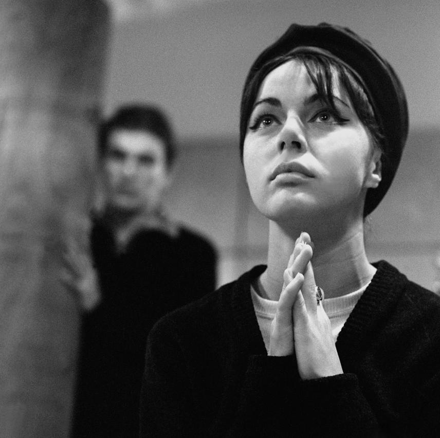 A 21 éves Csomós Mari és Kozák András, negyedéves színészhallgatók így próbáltak a Színház- és Filmművészeti Főiskolán 1964-ben.