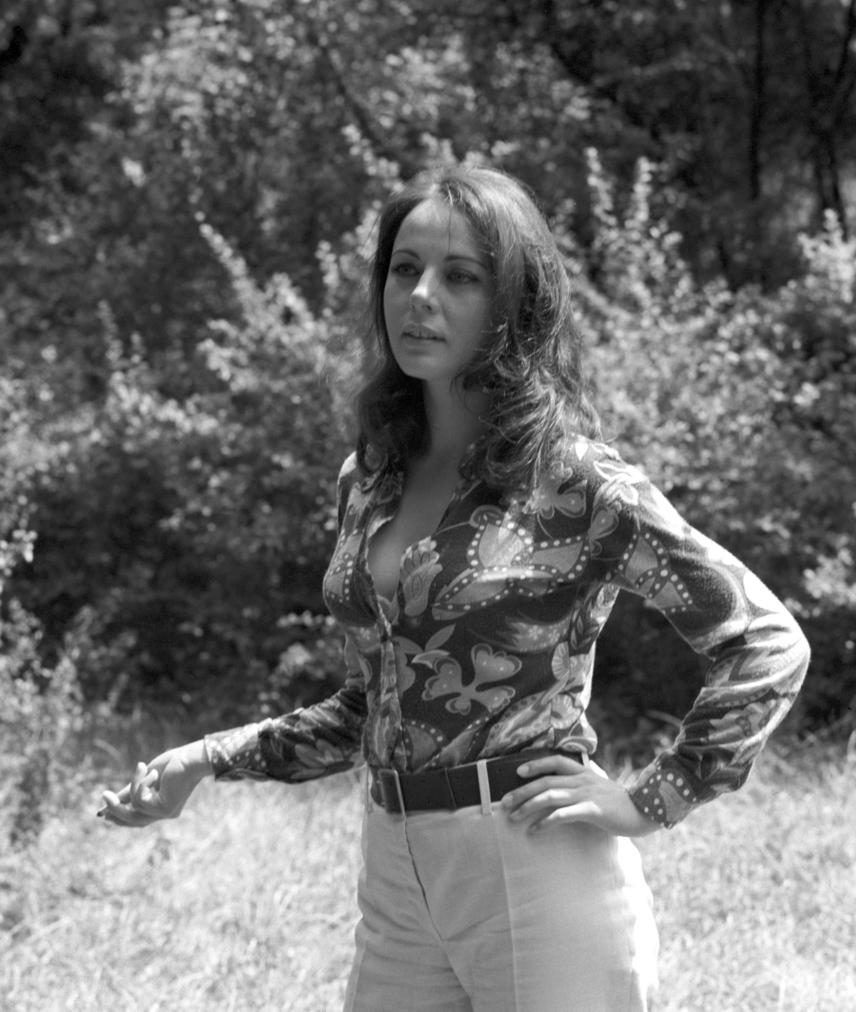 Csomós Mari ilyen vonzó volt Kertész Ákos 1972-ben bemutatott Makra című filmjének női főszereplőjeként.