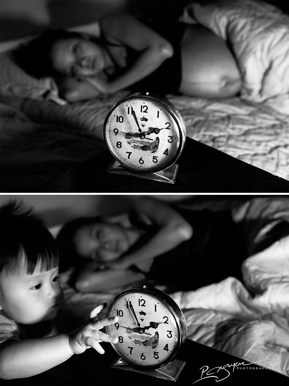 Az éjszaka ébren töltött órák is megtelnek gondoskodó szeretettel.