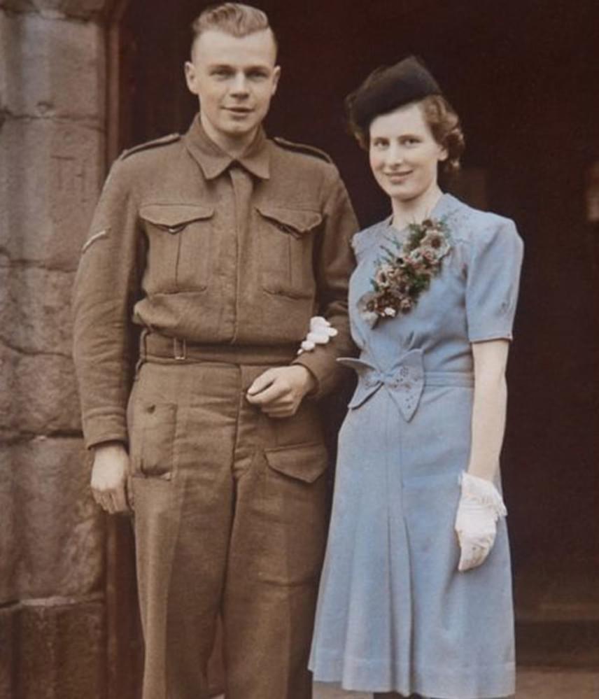 75 évnyi házasságuk alatt két lányuk, öt unokájuk és négy dédunokájuk született, akik egyetértenek abban, hogy Hilda szíve megszakadt, amikor Jim meghalt.