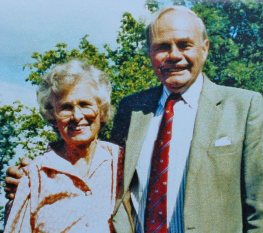 Mindössze két hét különbséggel hunyt el a 101 éves Jim Leach és felesége, a 89 éves Hilda, aki a család szerint néhány nap alatt belehalt szeretett férje elvesztésébe.