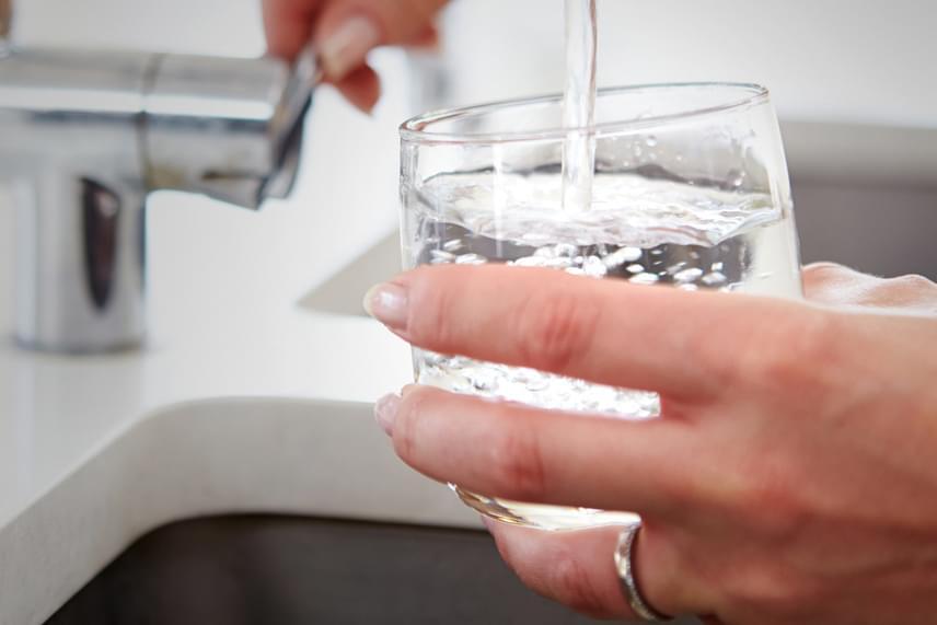 A vízfogyasztás testsúlyra gyakorolt hatását nagyszabású kutatások vizsgálták, melyek arra jutottak, hogy a karcsú és egészséges emberek több vizet fogyasztanak, mint az elhízottak. Ajánlásuk szerint a napi 2-3 liter azonban nem elég, hiszen egy 75 kilós felnőttnek napi 4,1 literre van szüksége a fogyáshoz. Ez ugyanis segít, hogy a növényi forrásokból bevitt rostok hosszabban eltelítsék a gyomrot, sőt, a víz maga is képes csökkenteni az éhségérzetet. Nézd meg, milyen képlettel számolhatod ki a saját vízszükségletedet!