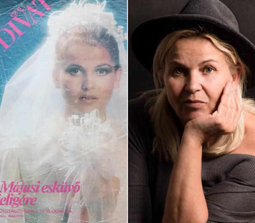 Barna Ilona számtalan alkalommal pózolt az Ez a divat borítóján, a bal oldali fotó a közkedvelt magazin 1981-es számának borítóján jelent meg.