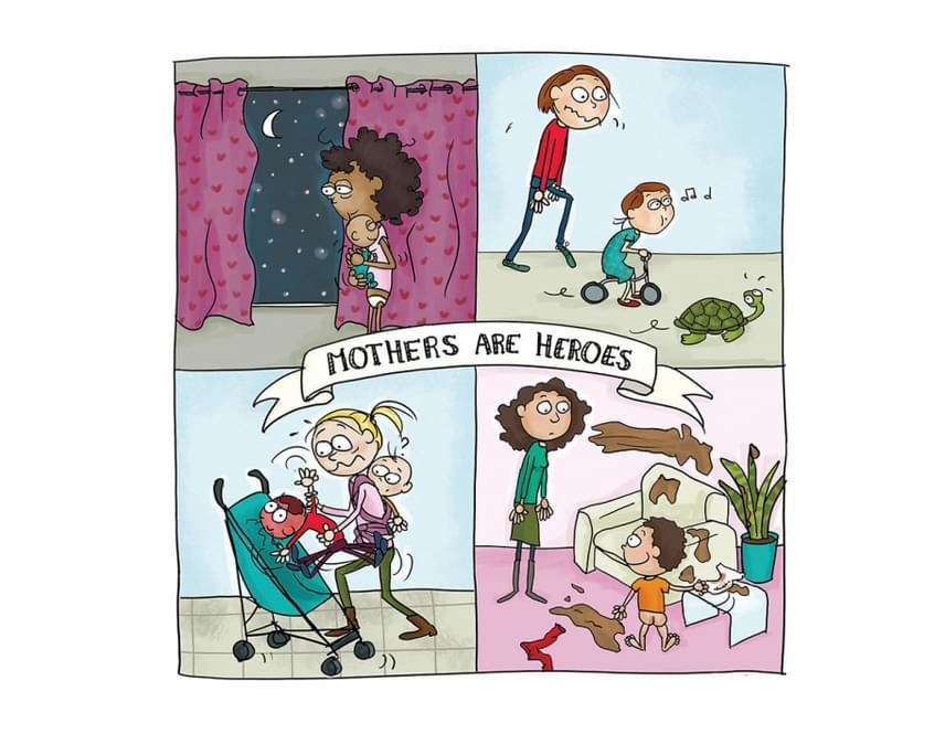Az anyák hősök...