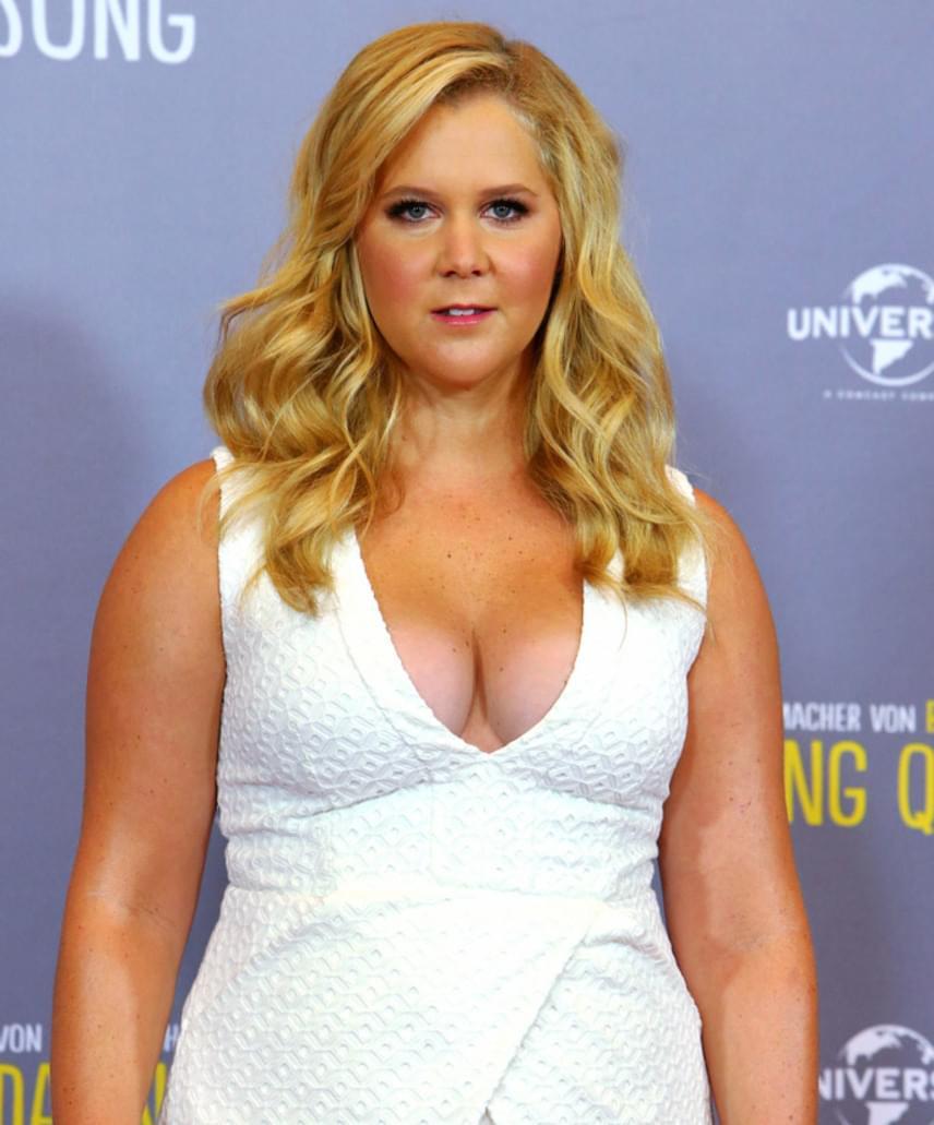Amy Schumer a Trainwreck forgatása alatt néhány kilótól megszabadult, azonban egyáltalán nem érezte jól magát vékonyabban.                         - Én vagyok Hollywood kövér nője! Ti elhiszitek? Nem, nem áll jól nekem a soványság, a fejem ugyanúgy malacos marad, a testem meg karcsú - hogy néz az ki? - viccelődött a show-jában.