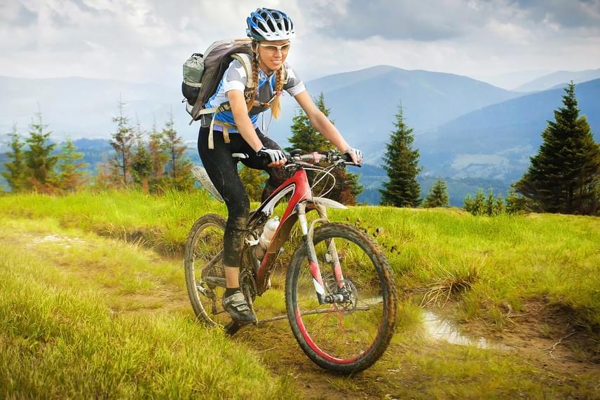 A hűvös időszak után végre újra előkerülhet a bicikli, mely nemcsak szuper kardió mozgás, de az ízületeket is kíméli. Közepes tempóban, sík terepen máris tízpercenként 100 kalóriát égetsz el vele, ám ha a keményebb tereppel vagy gyorsabb tempóval próbálkozol, akkor ez 150 fölé is mehet.