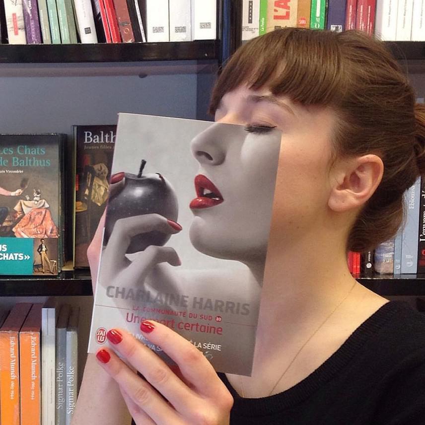 Kétszer is ez a kép lett a könyvesbolt legtöbbet like-olt fotója, ezért időről időre újra feltűnik az Instagramjukon.
