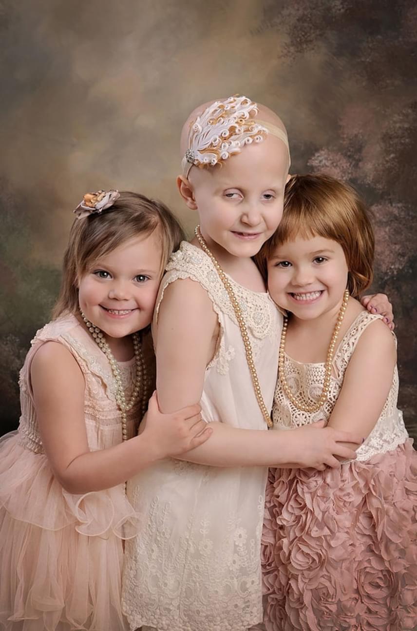 A kép már akkor is vírusként terjedt az interneten, ami ugyanígy igaz a három évvel későbbi, jelenlegi alkotásra, melyen ugyanaz a három kislány látható. Épp olyan gyönyörűek, mint egykor, azonban, míg Rylie és Ainsley épp olyan, mint bármelyik korukbeli kislány, Rheannen még feltűnik, hogy sokat kellett küzdenie. Szerencsére azonban mindhárom kislány egészséges.