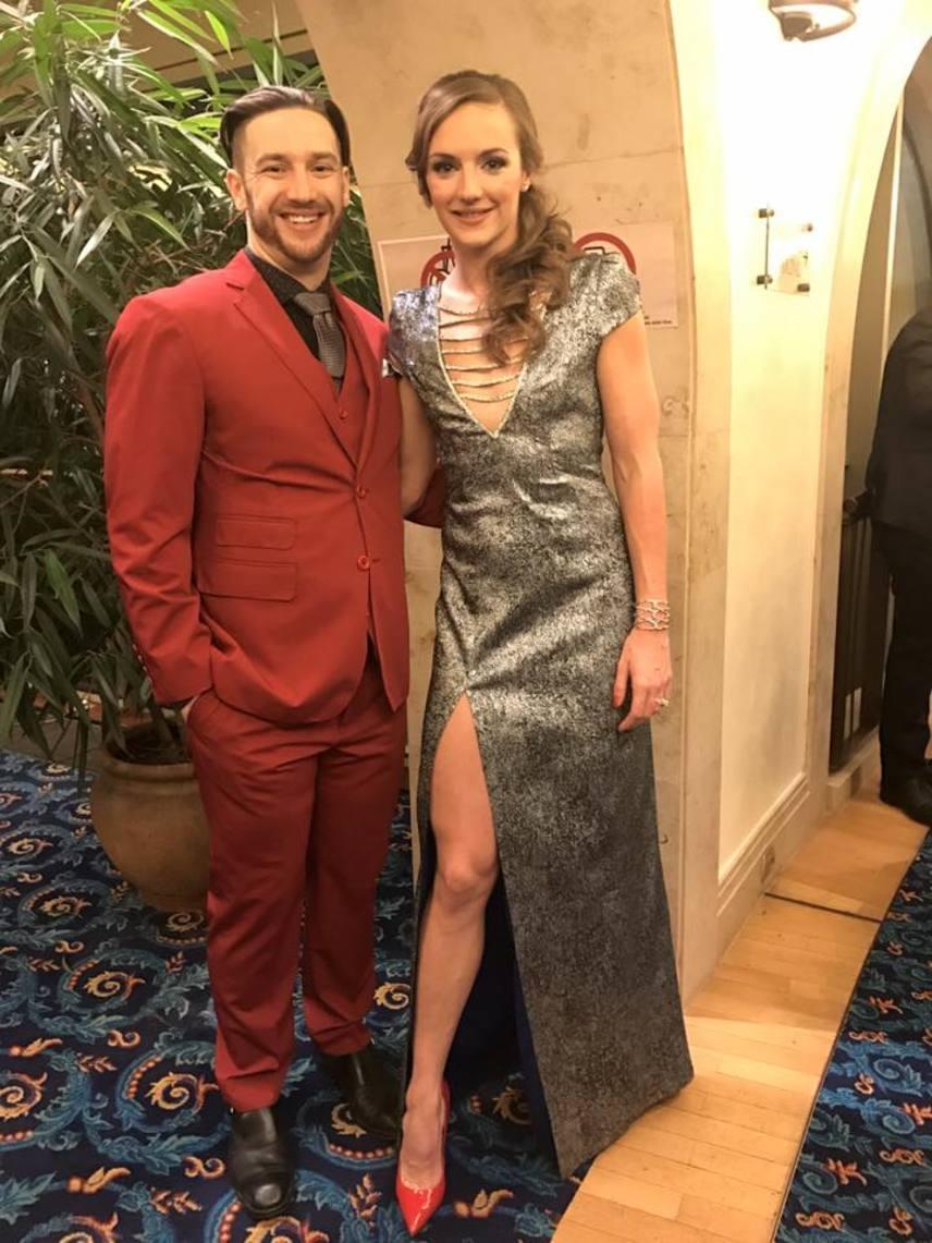 Januárban, az Év Sportolója díjkiosztó gálán egy mesés, Náray Tamás által tervezett ruhában - ő nyerte az év női sportolójának járó díjat.