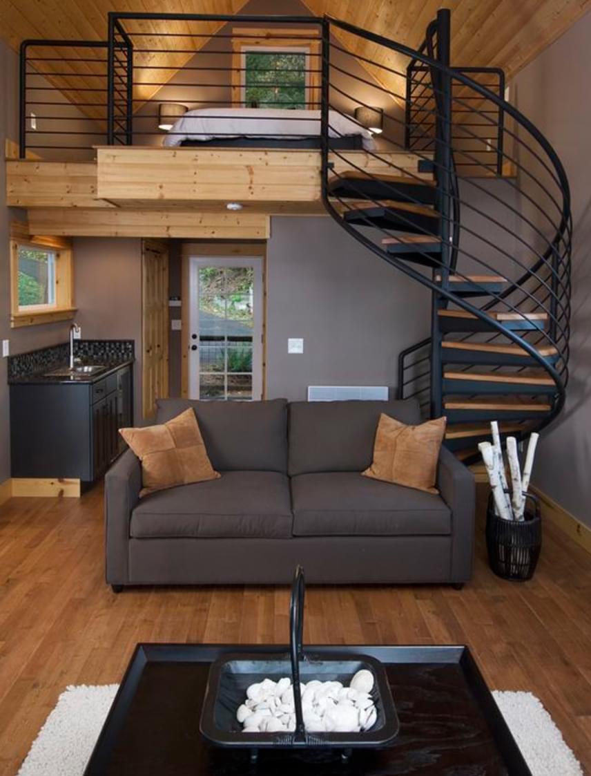 Nemcsak nagy belmagassággal bíró lakásokba tökéletes választás a galéria, de olyan házakba is, ahol nem alakítottak ki két külön szintet.