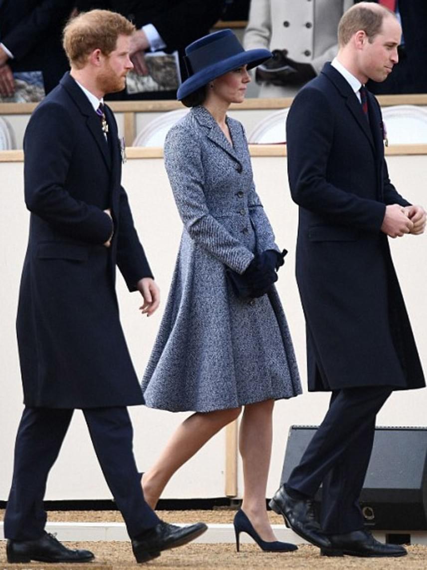 Harry és Vilmos herceg is segítettek a királynőnek az emlékmű leleplezésében - szívszorító pillanat volt ez ezrek számára.
