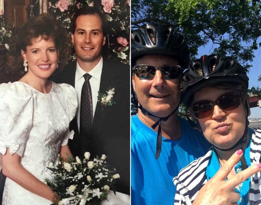 Lorának és Jimnek két lánya van, idén ünneplik majd a 27. házassági évfordulójukat.