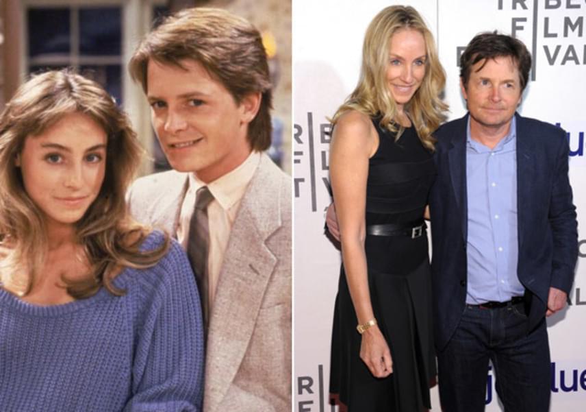 Michael J. Fox és Tracy Pollan is egy forgatáson jöttek össze: Tracy játszotta a Családi kötelékekben Michael barátnőjét, és rögtön egymásba is szerettek. 1988 óta házasok.