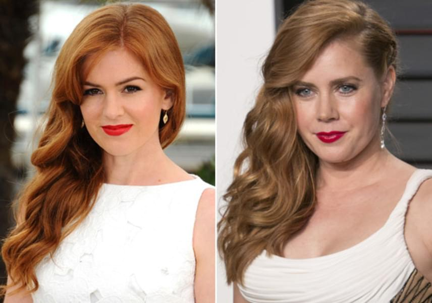 Isla Fisher és Amy Adams nemcsak külsőleg, hanem stílusukban is hasonlítanak - ebben a szettben mintha tényleg ikertestvérek lennének!