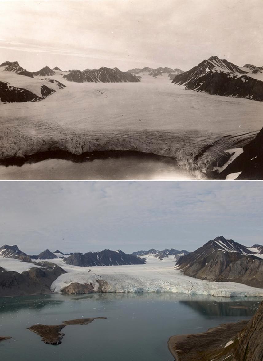 A késő nyári jégtakaró évente mintegy 7-8%-kal csökken a globális felmelegedés következtében, ami alapján az eddigieknél sokkal korábbra, 2020 nyarára várják az északi-sarki jégsapka elolvadását.
