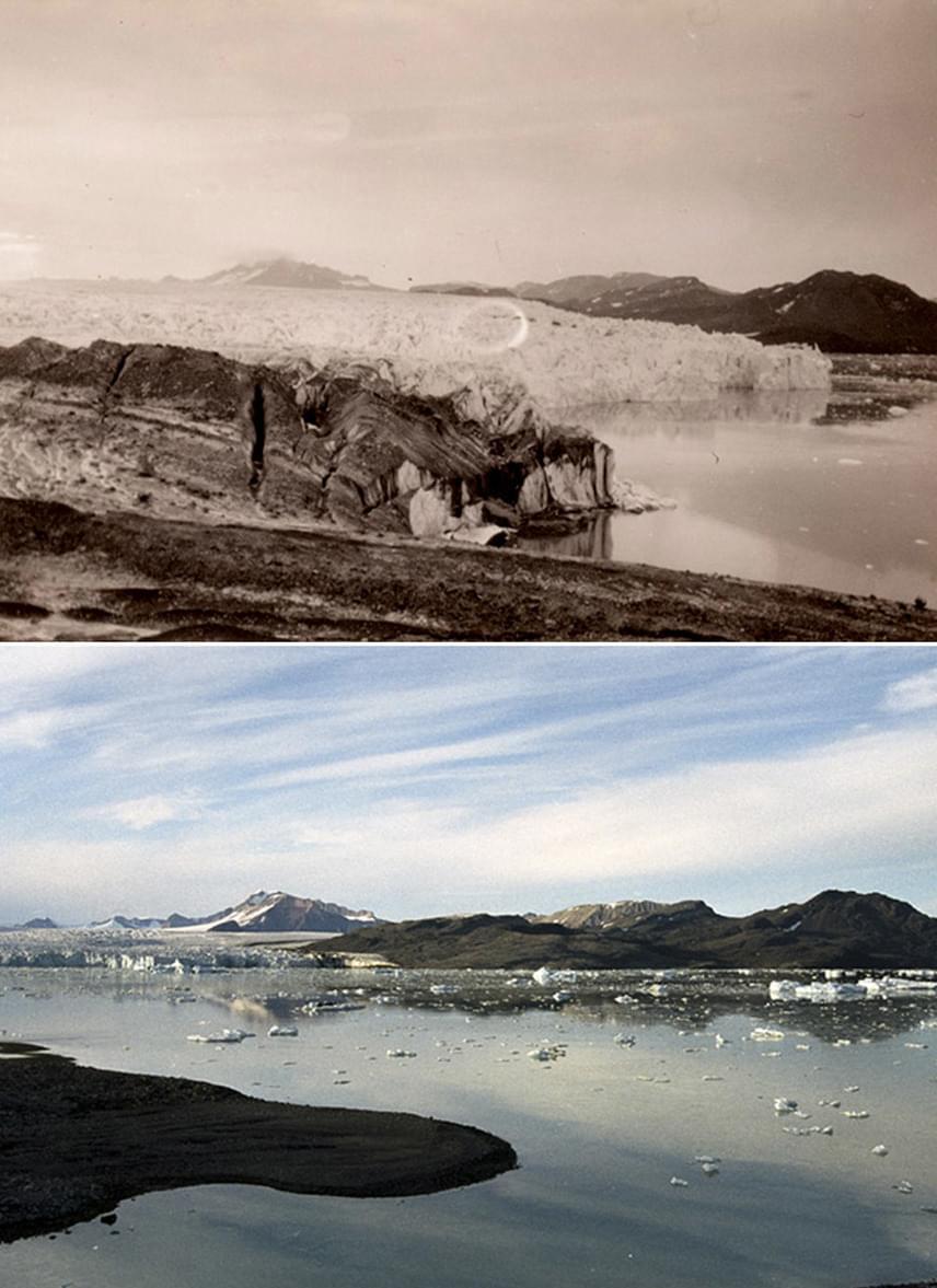 A régi képek nagy része az 1920-as években készült - ennyit változott azóta az Északi-sark.