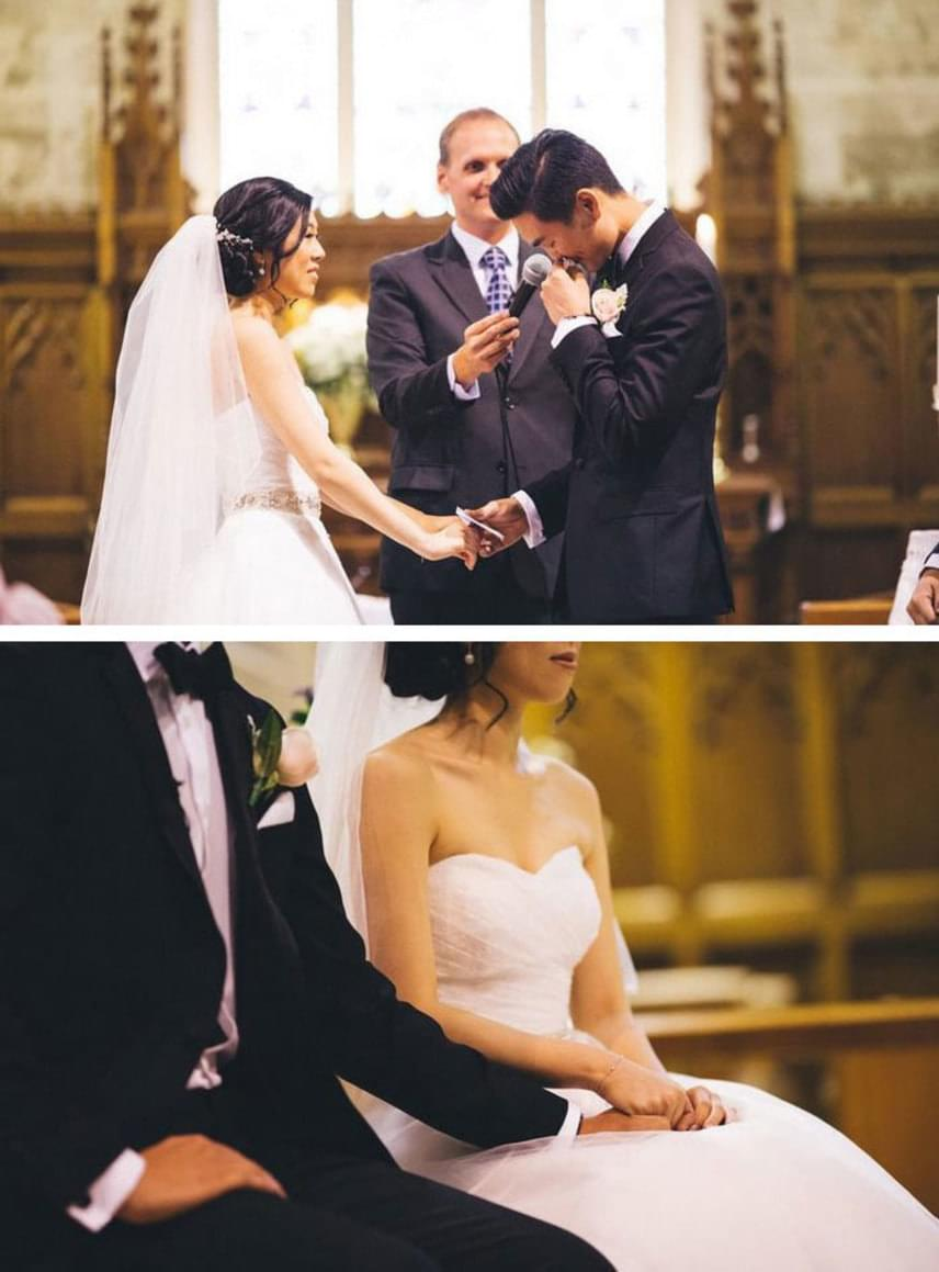 Az édes történet tetején ráadásul tejszínhab is van: Timothy és Candice két hónapja jártak, amikor Tim írt egy szerelmes dalt a kedvesének, melyet az esküvőjükön elénekelt neki.