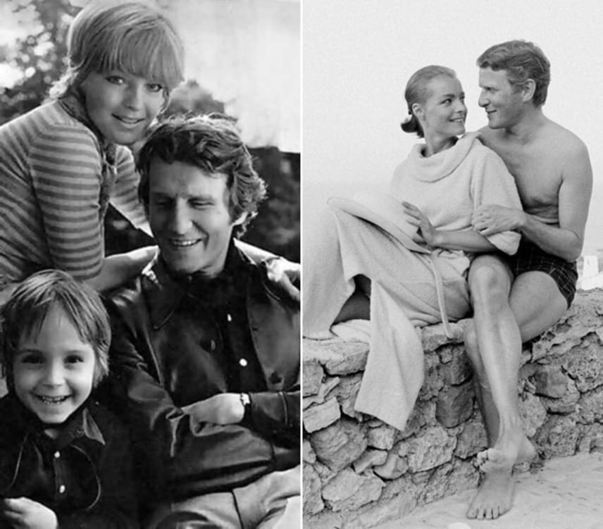 Mindenki Sissyje nagyon szerette férjét és kisfiát, ám mindkettejüket tragikusan fiatalon veszítette el. David Christopher 1981-ben, 14 évesen korában egy balesetben veszítette életét: leesett egy kerítésről, amit meg akart mászni.