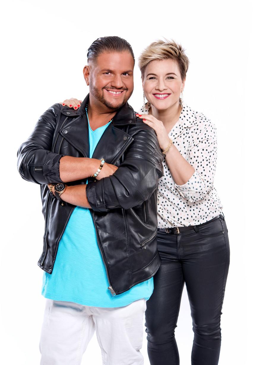 Emilio mellett Ábel Anita színésznő-műsorvezető mutathatja meg, milyen az énekhangja.