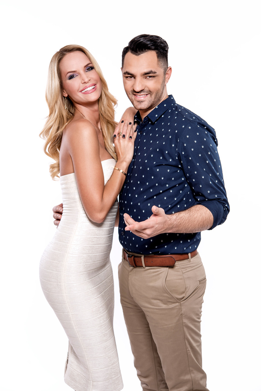 Oláh Gergő duettpartnereként Zimány Linda modell, jogász megmutathatja, hogy mennyire tehetséges az éneklésben.