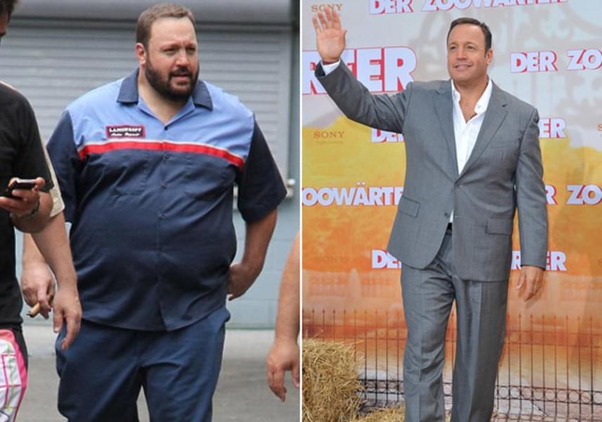 A Férjek gyöngye sorozat sztárja, Kevin James is majdnem 40 kilót dobott le edzéssel és diétával - azóta persze jobban is érzi magát a bőrében.
